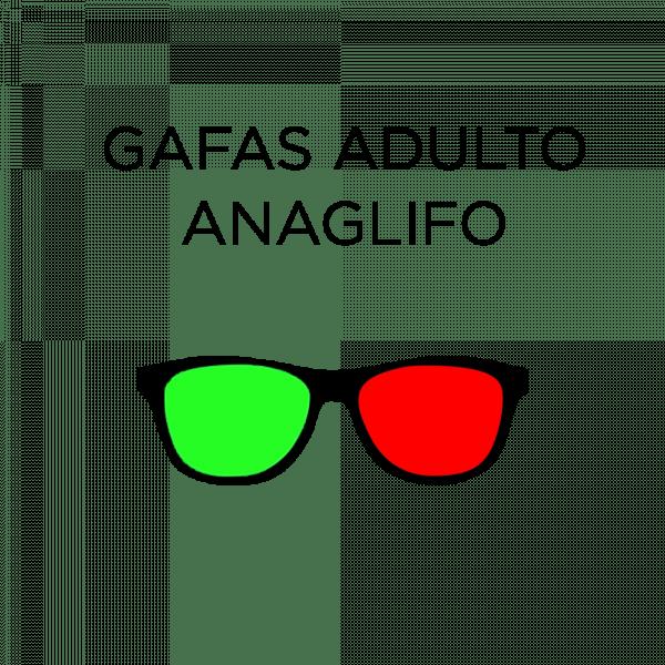 Gafa anaglifo adulto